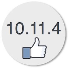 10.11.4: I say thumbs up!