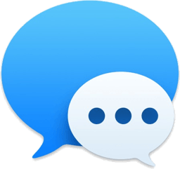 Messages icon, 256 x 241