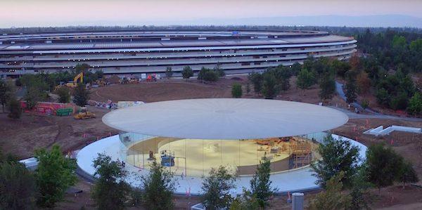 Apple Park drone video courtesy of 9to5Mac.com