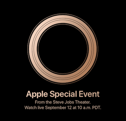 Apple Special Event September 12th, 2018