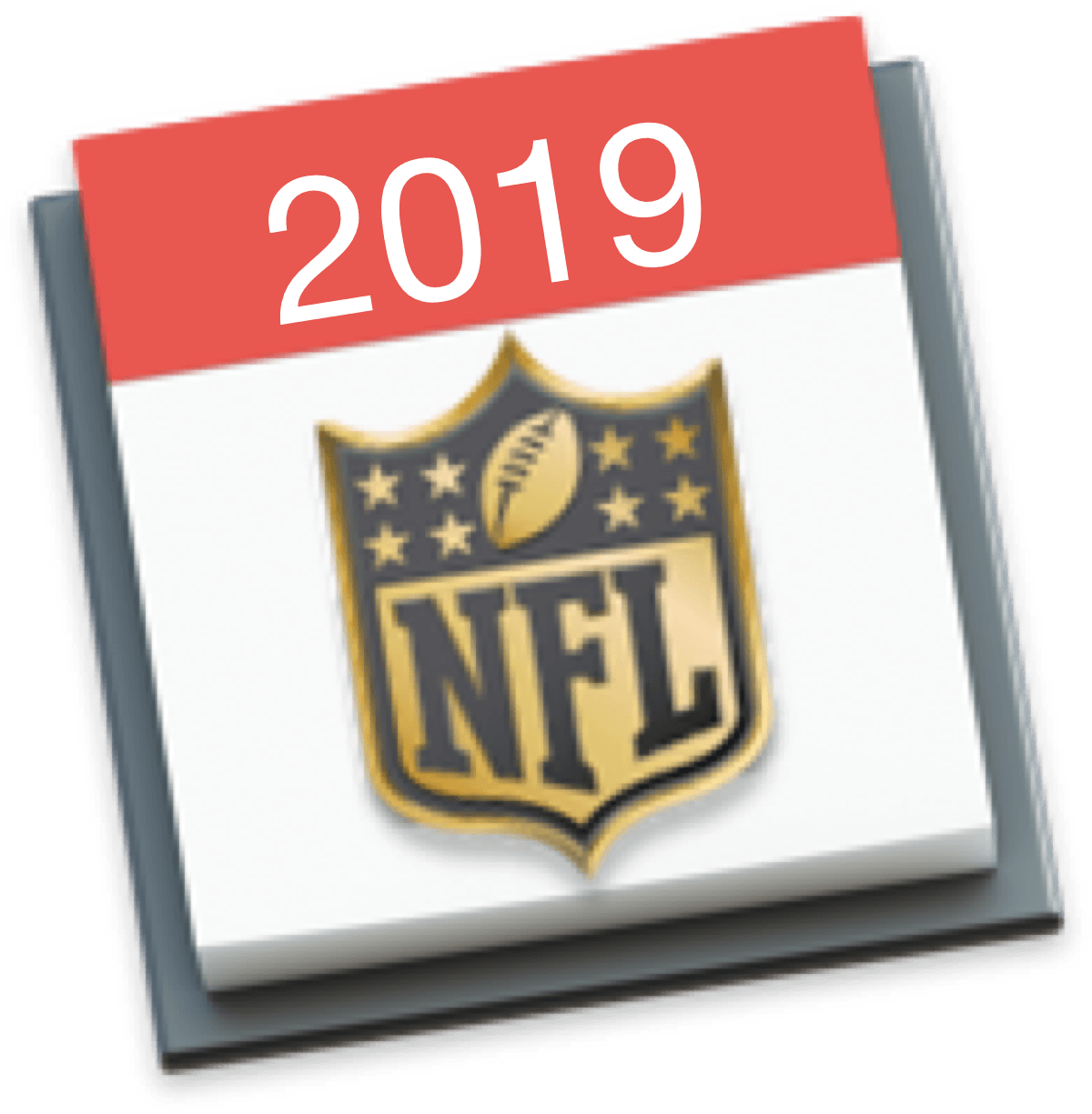 Calendrier Nfl 2020 2019.Add The 2019 Nfl Schedule To Your Iphone Ipad And Mac