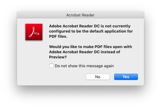 Acrobat wants to take over your PDFs. Don't let them! Just say No!