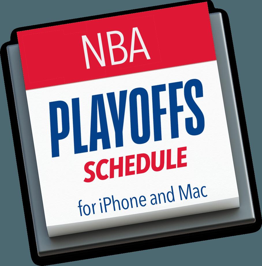 82ca89649ff NBA Playoffs Calendar for iPhone and Mac - Christian Boyce