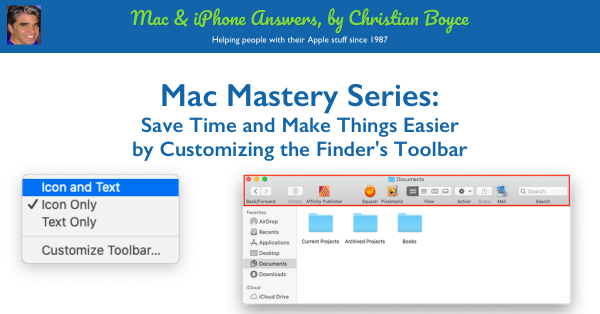 How to Customize Finder Toolbar featured image